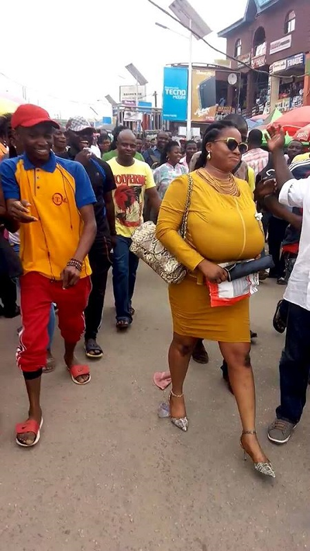 See New Photos Of Heavily Endowed Woman That Shut-Down Lagos Market - Information Nigeria-1926
