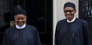 Mamman Dauraand President Buhari
