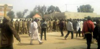 soldiers surround Shiite gathering in Kaduna