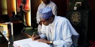 buhari sign bills