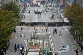 sinkhole japan