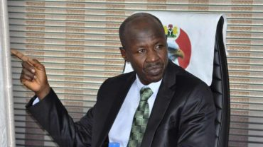 Image result for Buhari nominates Magu as EFCC Chair