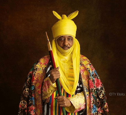 emir sanusi of kano 437x400 - Just In: Court stops Ganduje from whittling down Emir Sanusi's powers