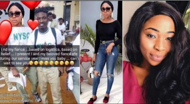 Nigerian Lady Posts Fake Pictures Claiming She's Engaged To BBN Winner Efe