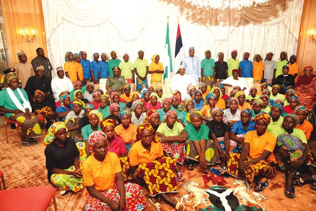 Buhari says Chibok girls will re-enter society