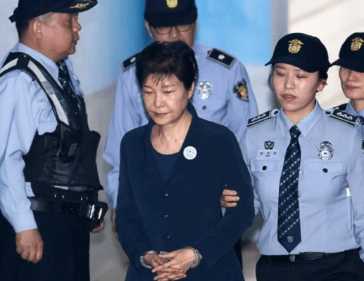 Korean President denies charges in graft trial