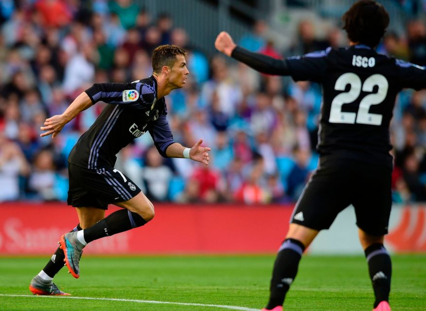 Real Madrid a point from title after Celta Vigo win