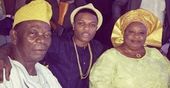 Image result for wizkid and father