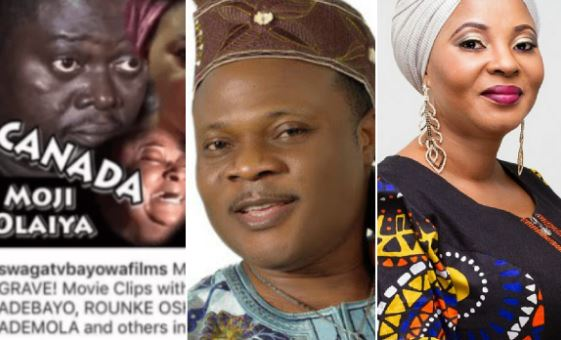 Gbenga Adewusi Under Fire For Promoting Moji Olaiya's 'canada To Grave' Movie 1