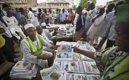 newspaper stands - Nigerian Newspaper Headlines Today:18th February
