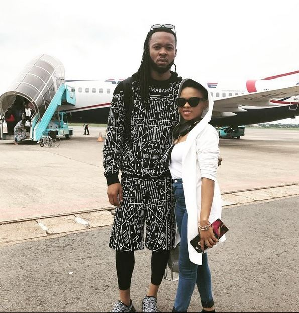 Chidinma And Flavour Pictured All Loved Up, Fans React At Height Difference