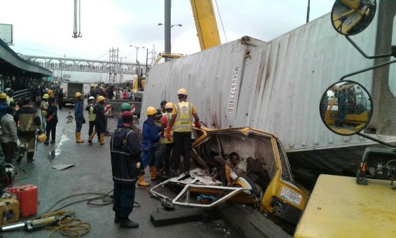 Tragedy! 8 crushed to death in Ojota