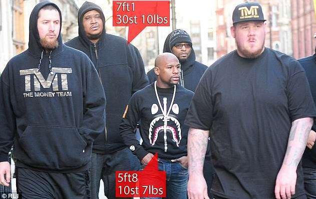floyd mayweather's bodyguards