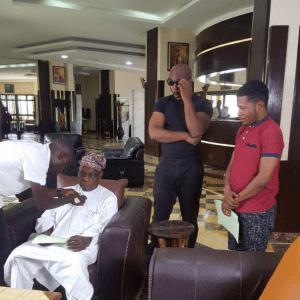 Image result for Olusegun Obasanjo Lands First Nollywood Movie Role