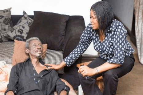 Touching Photos Of Ailing Veteran Actor Sadiq Daba Information Nigeria