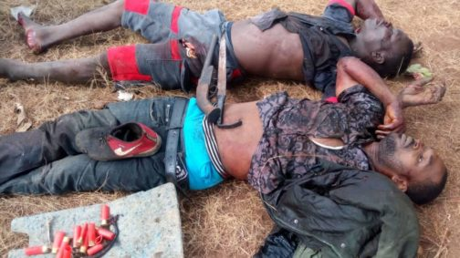 Two Suspected Robbers Killed By The Police At Dangote Cement Factory  INFORMATION NIGERIA