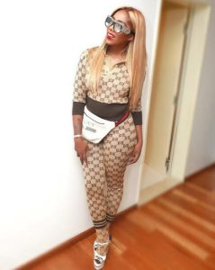 19AC471C CD11 4C03 902D 2A6D8F20C0DC - Tiwa Savage Stuns At The Soundcity MVP Awards With Her Gucci Equipment