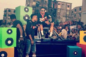 """Efe And Olamide Take To The Streets To Shoot Video For """"Warri"""""""