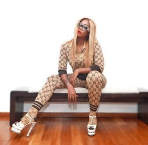 23A81DD6 FD1A 44E7 8556 F71F1B5A3F1A - Tiwa Savage Stuns At The Soundcity MVP Awards With Her Gucci Equipment