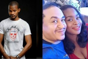 """""""How can you be a """"fiancee"""" to a Man whose Divorce case is still in Court? – Uche Maduagwu Slam Freeze For Having An Affair With Another Man's Wife"""