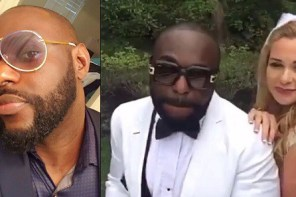 See how Jim Iyke rips apart a follower who urged him to marry