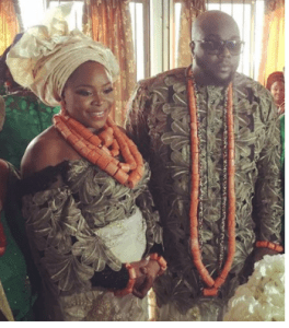 omawumi trad 2 - First Photographs From Omawumi's Conventional Marriage ceremony To Tosin Yusuf In Warri