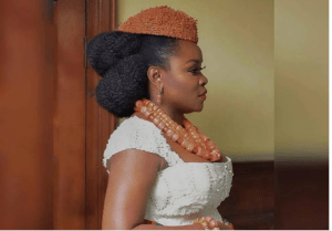 omawumi traditional 3 768x535 - First Photographs From Omawumi's Conventional Marriage ceremony To Tosin Yusuf In Warri