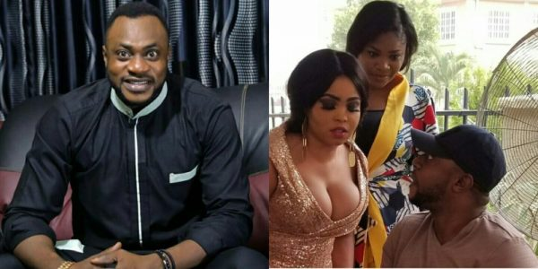 Shock as lady opens her chest in front of actor Odunlade Adekola…check out  fans' reactions (PHOTOS) - Information Nigeria