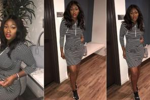 Omotola Jalade Second Daughter, Meraiah Looks Gorgeous In New Photos