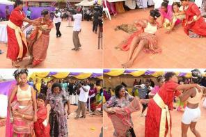 Bride Strips Herself At Her Wedding After Being Allegedly 'Attacked By Witches' (Photos)