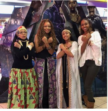 Check Out How Africans In America Dressed To Go See The Movie Black