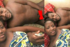 Young couple become infamous after sharing a picture of themselves relaxing after s*x