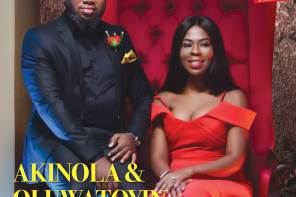 Akin and Toyin Olatunji Daniels of Eventecture covers this week's wedding Issue of Vanguard Allure