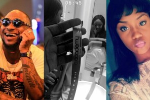 New Loved Up Pictures Of Davido And His Girlfriend, Chioma After His London Concert