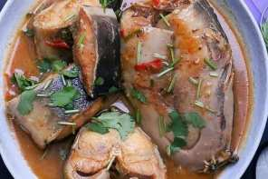 Nigerian Dishes: Catfish Pepper soup