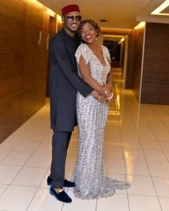 so romantic see what 2baba surprised his wife annie idibia with early in the morning photos - Thank you for being there when I needed a friend – Annie Idibia appreciates husband