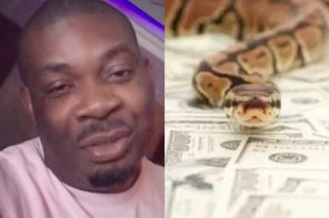 'Snake swallowed my money'- Don Jazzy's Epic Reply to a Lady who asked him for money