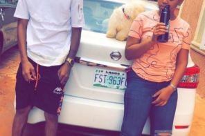 Actress, Regina Daniels Shows Off The Man In Her Life (Photos)