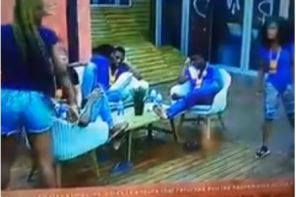 Videos: Cee-C and Alex nearly came blows and had to be separated by fellow housemates.