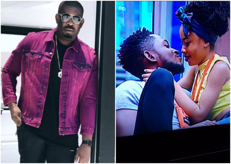 Image result for #BBNaija: Don Jazzy reacts to Nina begging Miracle for sex