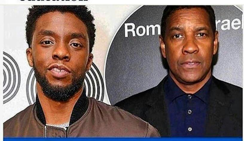 What Denzel Washington Told Chadwick Boseman the First Time They Met