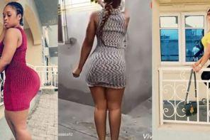 Curvy Nollywood Actress, Princess Chidinma Stuns In New Pics, Twerks Hard
