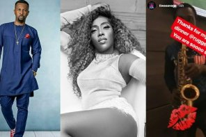 Ruggedybaba And Tiwa Savage Spark Dating Rumor As They Go On A Dinner Date