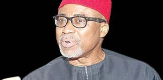 Senator Enyinnaya Abaribe(Abia South) has emerged the Minority Leader of the Ninth Senate.