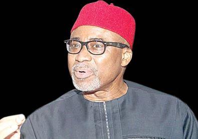 Senator Enyinnaya Abaribe(Abia South) has emerged the Minority Leader of the Ninth Senate.