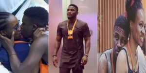 #BBNAIJA 2018: TOBI LEFT OUT IN THE COLD AS LOLU AND ANTO MAKE UP