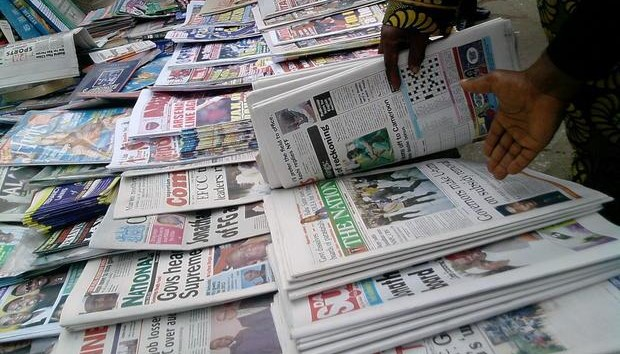 Nigerian Newspaper Headlines Today: 27h April, 2019 ...