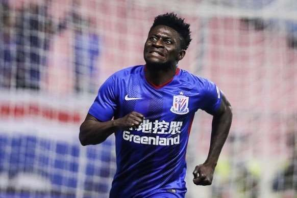 Super Eagles striker Obafemi Martins