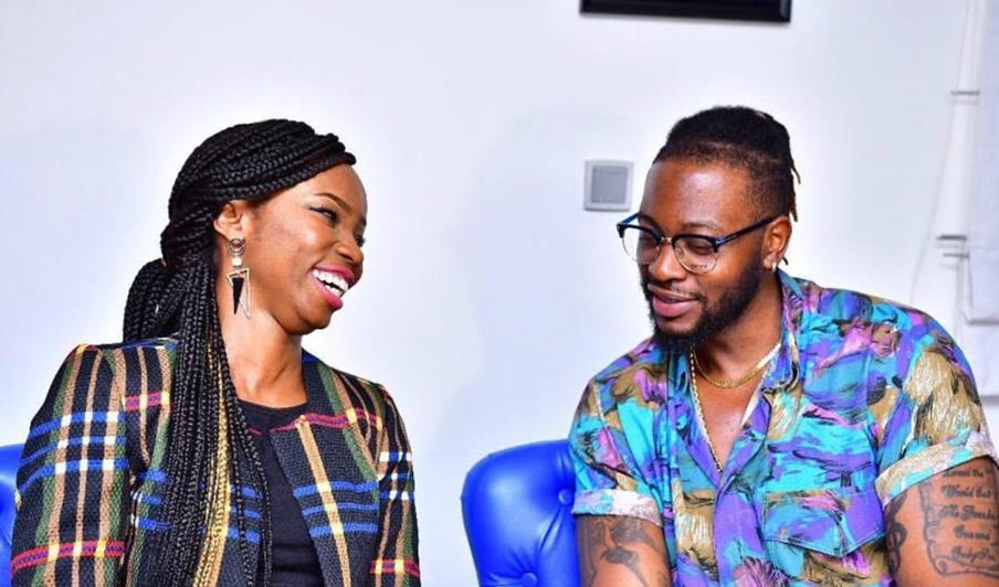 #BBNaija 2018: Evicted housemates, Teddy A and BamBam step out in style