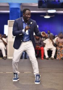 holy swagger check out what popular prophet fufeyin was spotted wearing in church photos - Photos: Popular Nigerian Pastor Splashes N4.3m On Prostitutes